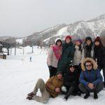 [Field trip to Hokkaido in 2019]Beautiful ski resorts in Niseko and Karakol.