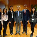 【表敬訪問】 NipCA フェローが日本財団笹川陽平会長を表敬訪問